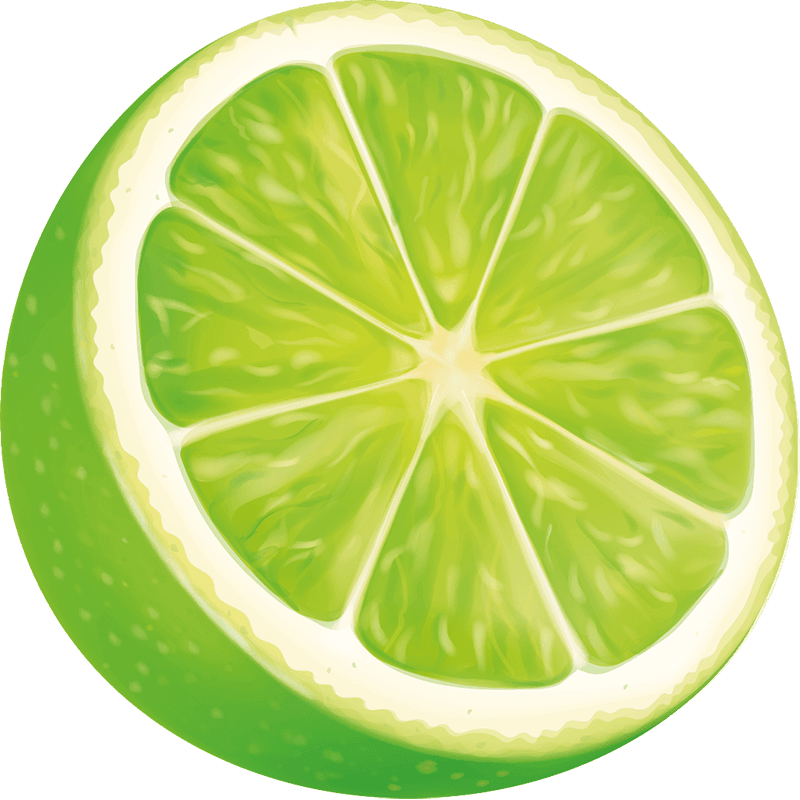 A Sliced Lime Wedge
