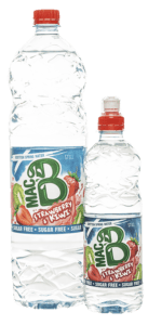 Macb Strawberry & Kiwi Bottles of 1.5l and 500ml