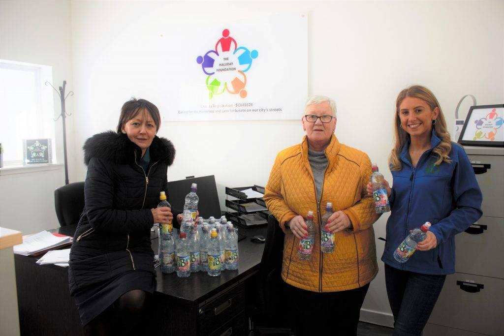 3 women with Macb water